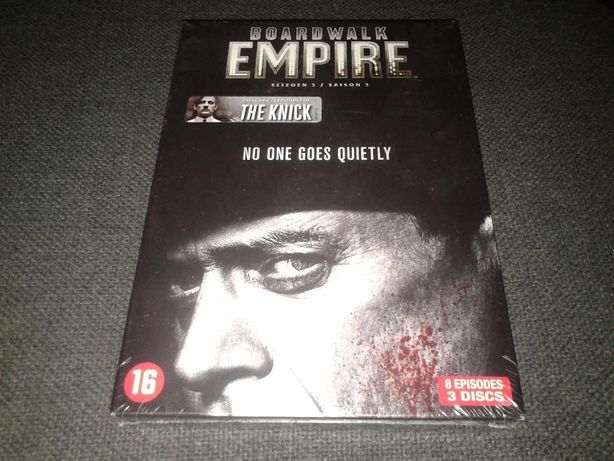 Zakazane imperium Boardwalk empire sezon 5 DVD pl