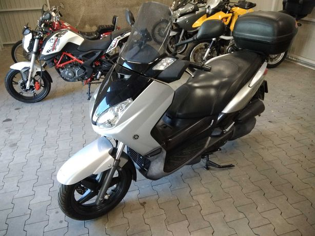 Zamiana Yamaha X-MAX 125 Kat.B 14 KM. 2008r. Na samochód,Kamper,trajka