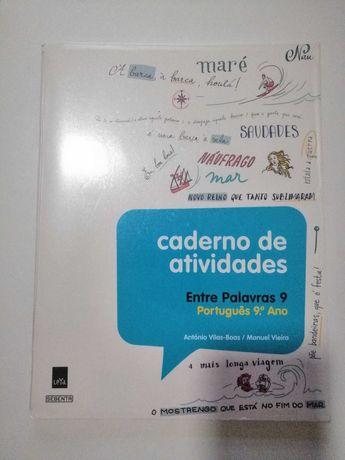 Entre Palavras - Português - 9º ano - Caderno de atividades