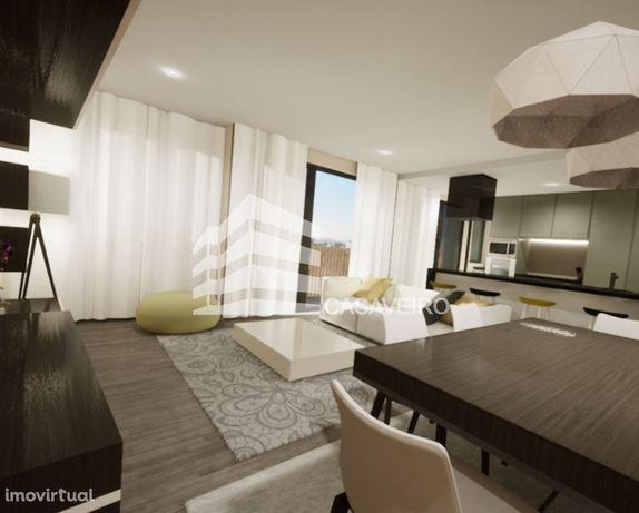 Apartamento T2 com Terraço Novo Aveiro