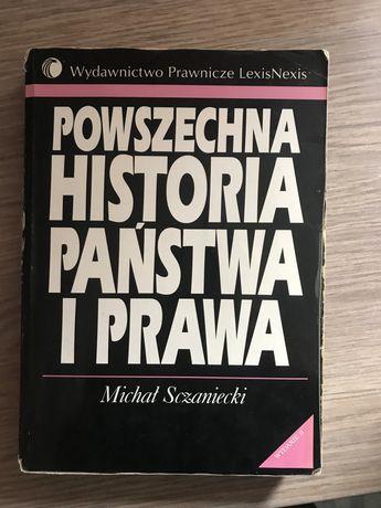 Książka Powszechna Historia Państwa i Prawa Sczaniecki