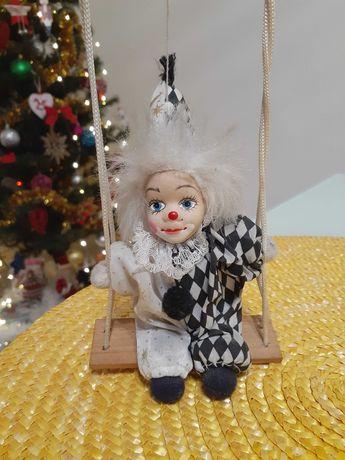 Коллекционный клоун на качелях(Германия)