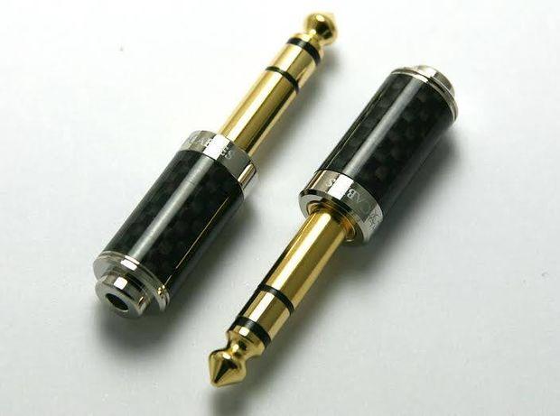 Adapter Jack 3,5mm mini Toxic Cables Carbon
