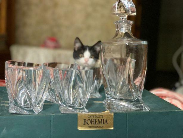 Коллекционный набор для виски  BOHEMIA