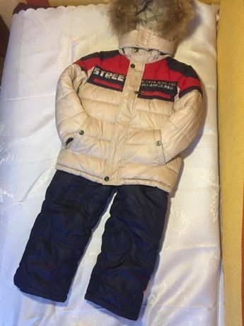 Зимовий костюм для хлопчика