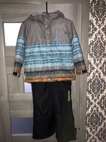 Зимняя термо курточка и полукомбинезон Reserved 104 рост