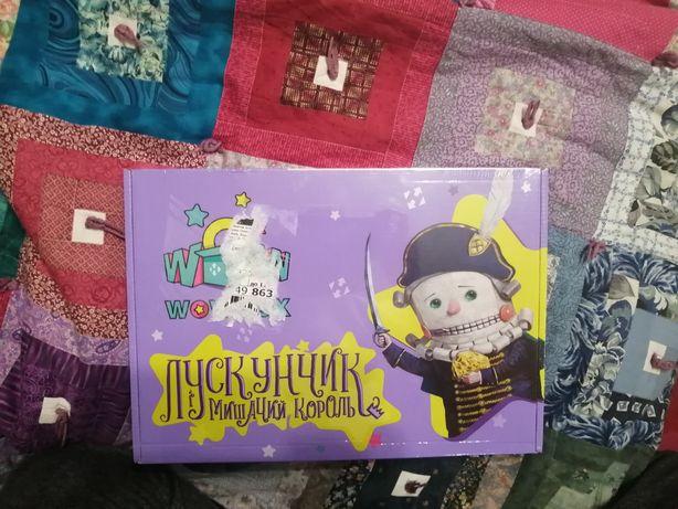 Набор игровой для детей 3+ Wowbox Лускунчик і Мишачий Король
