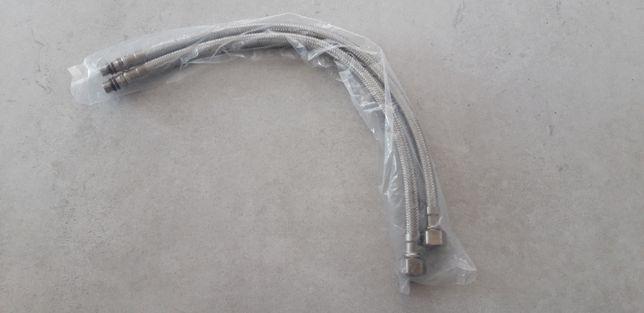 Wąż wężyk przyłączeniowy do baterii 2 sztuki 3/8 M10 40 cm