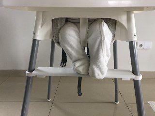 Suporte de pés para cadeira alta de bebé, ANTILOP IKEA
