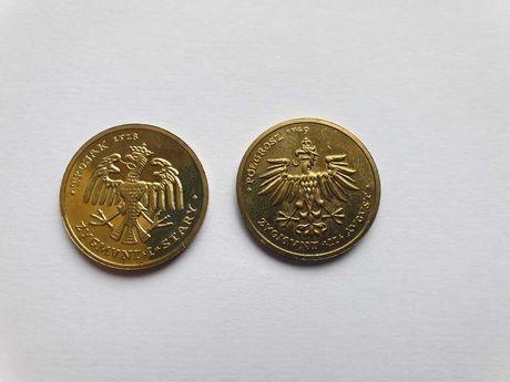 Monety Zastępcze 4 Orły Gorzów Wlkp.Zygmunt I Stary, Zygmunt II August