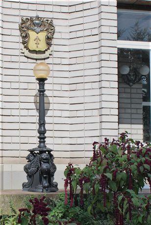 Светильник напольный  (Канделябр лампада)  Фонарь уличный столб Люстра