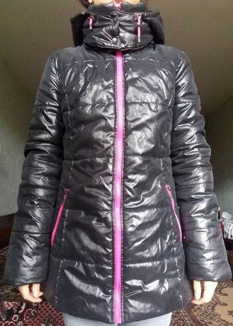 теплая зимнея московская синтепоновая куртка