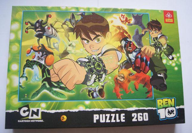 Puzzle BEN 10 260 szt