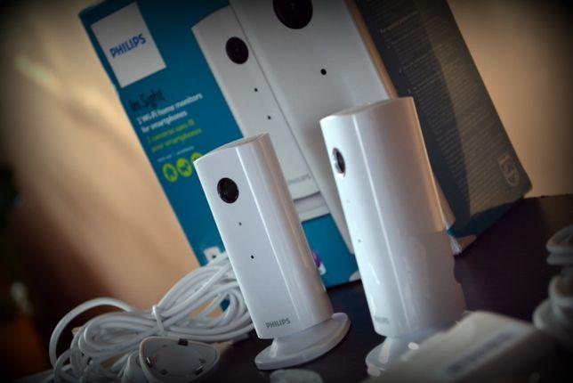 Philips Bezprzewodowy monitor domu M100G 2 sztuki, Apple/Android