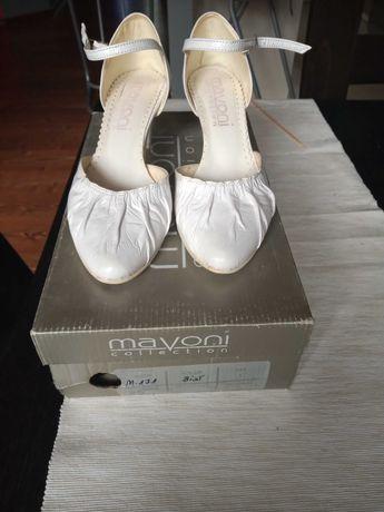 Buty ślubne białe rozmiar 36