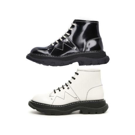 Женские зимние ботинки Alexander McQueen Tread Slick Boots черевики