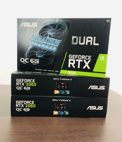 Placa Grafica RTX 2060 6GB DUAL GDDR6 OC