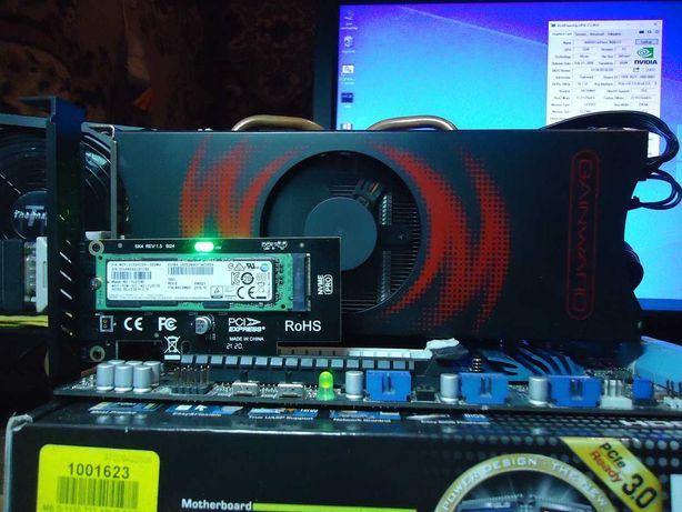 Видеокарта GAINWARD 9600 GT 512 Mb 256 bit.