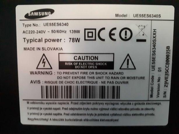 Telewizor Samsung Smart 55 cali UE55ES6340 elektronika