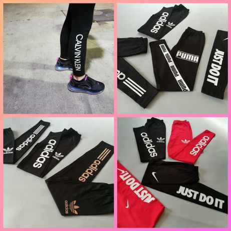 Leginsy Spodnie Damskie Nike Calvin Klein Hugo Boss Tommy hilfiger