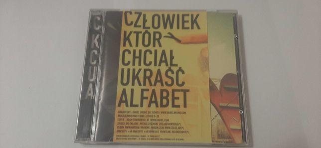 Plyta CD człowiek który chciał ukraść alfabet
