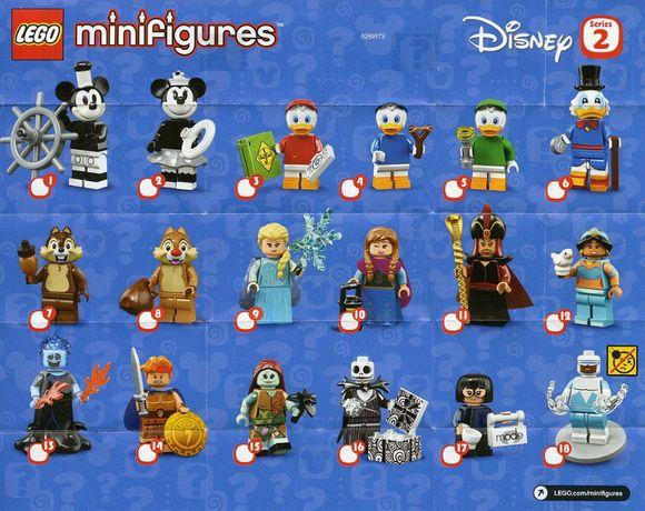 Lego Disney 2 minifiguras (várias)