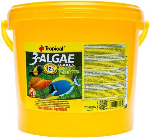 Super 3 Algae Flakes TROPICAL NAJTANIEJ!!! 21L/4kg