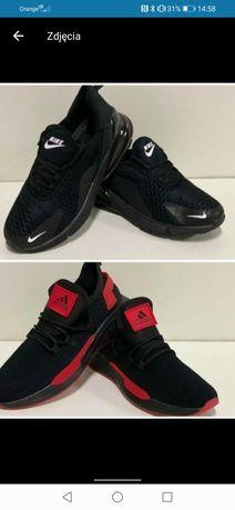 Nowe adidasy adidas R 43 czarno czerwone