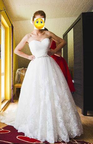 Suknia ślubna rozm. 40 Pure by Elia Moreni AM1208