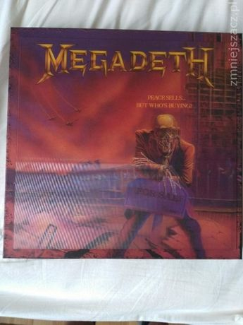 MEGADETH - peace sells ... but who's buing? BOX 3LP+5CD+gadżety