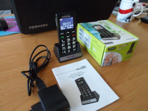 Telefon dla seniora MaxCom MM705BB