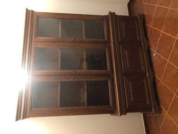 Conjunto de mobília de escritório em carvalho como nova