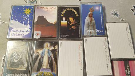 4 zestaw religijnych kaset magnetofonowych
