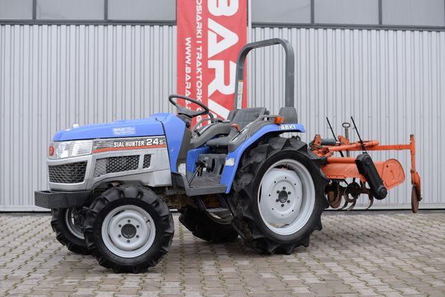 Traktorek ISEKI SIAL HUNTER 24s (071214) - Baras