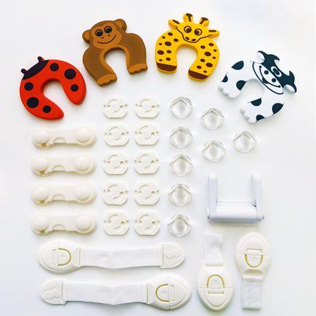 Защитные уголки для детей, заглушки для розеток, детская БЕЗОПАСНОСТЬ