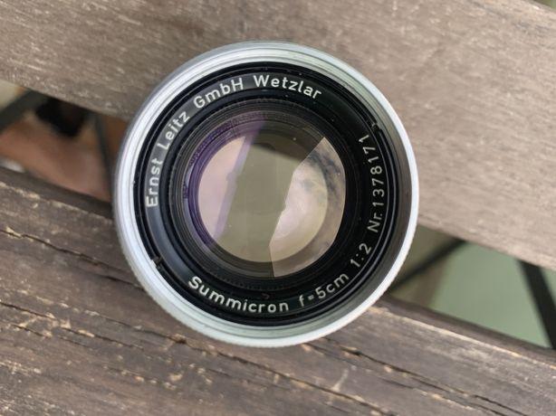 Lente Leica Summicron 5cm 2.0 M