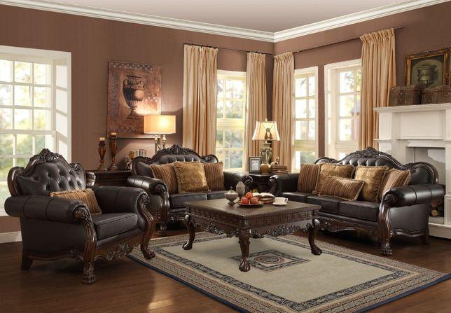 Stylowy komplet wypoczynkowy Stylowe sofy stylowy wypoczynek Meble