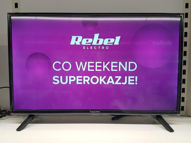 Telewizor 32 cale HD Kruger&Matz DVB-T2/DVB-C 489zł RATY