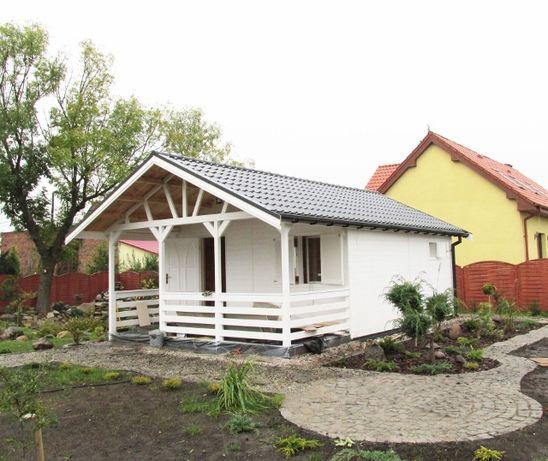 Domek,domki letniskowe,ogrodowe,drewniane,altanki,4,5x5,5m,do 35m2
