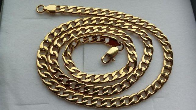 pozłacany łańcuszek,złoty łańcuszek,srebrny łańcuszek,splot pancerka