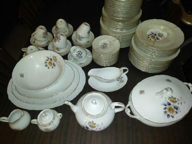 Serviço jantar e chá SPAL NOVO vintage antiguidade louça