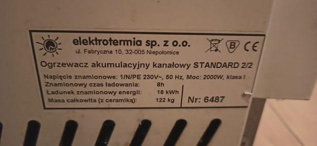 Zestaw 3 piecy akumulacyjnych, elektrotmia, ogrzewacz akumulacyjny