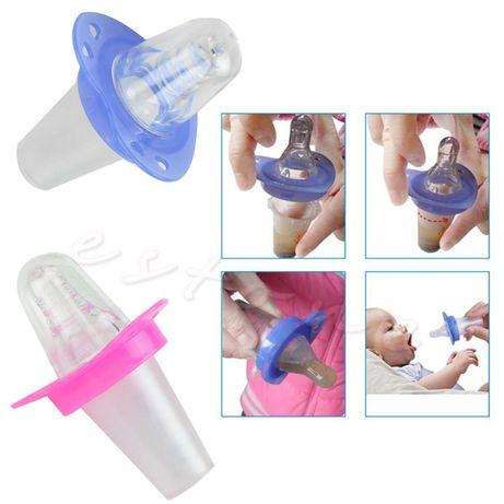 Chupeta para Suplementos/Medicina para Bebes em silicone (Novas) Cacem