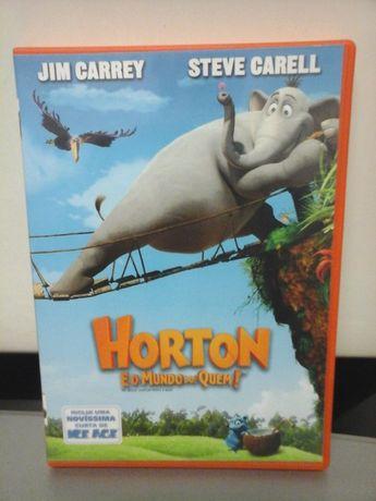 DVD Horton e o Mundo dos Quem - Filme de Animação - ENTREGA IMEDIATA