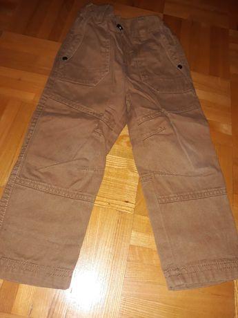 Spodnie brązowe F&F 98