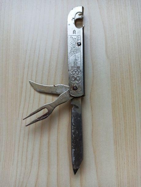 Нож складной универсальный туристический. Советский СССР