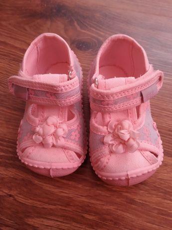Buty sandały dziecięce rozmiar 19