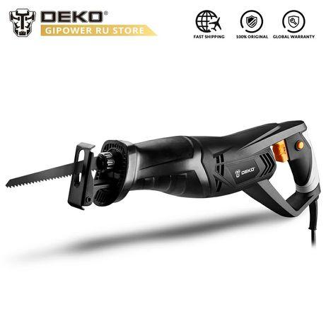Пила сабельная Deko DKRS 01 ножовка сетевая 900w