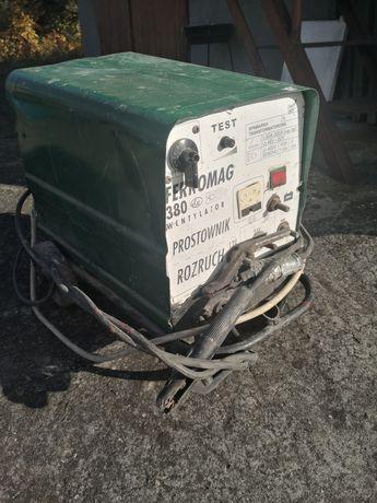 Spawarka ferromag 380a z prostownikiem i rozruchem okazja