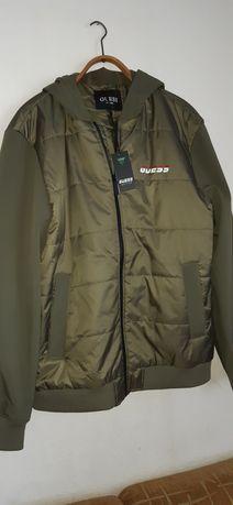 Куртка ветровка бомбер Guess (оригинал) Under Armour Puma Armani Klein
